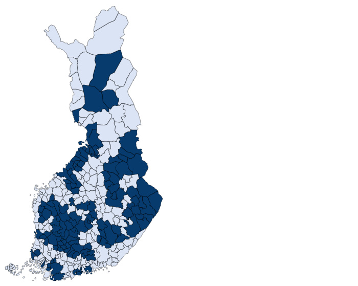 Kuntien muodostamat alueet kattavat edellistä kokeilua suuremman ja yhtenäisemmän osan Suomesta.