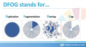DFOG tulee sanoista duplication, fragmentation, overlap ja gap.